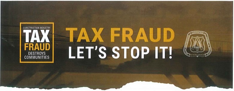 Tax Fraud - Let's Stop It! - Featured Image